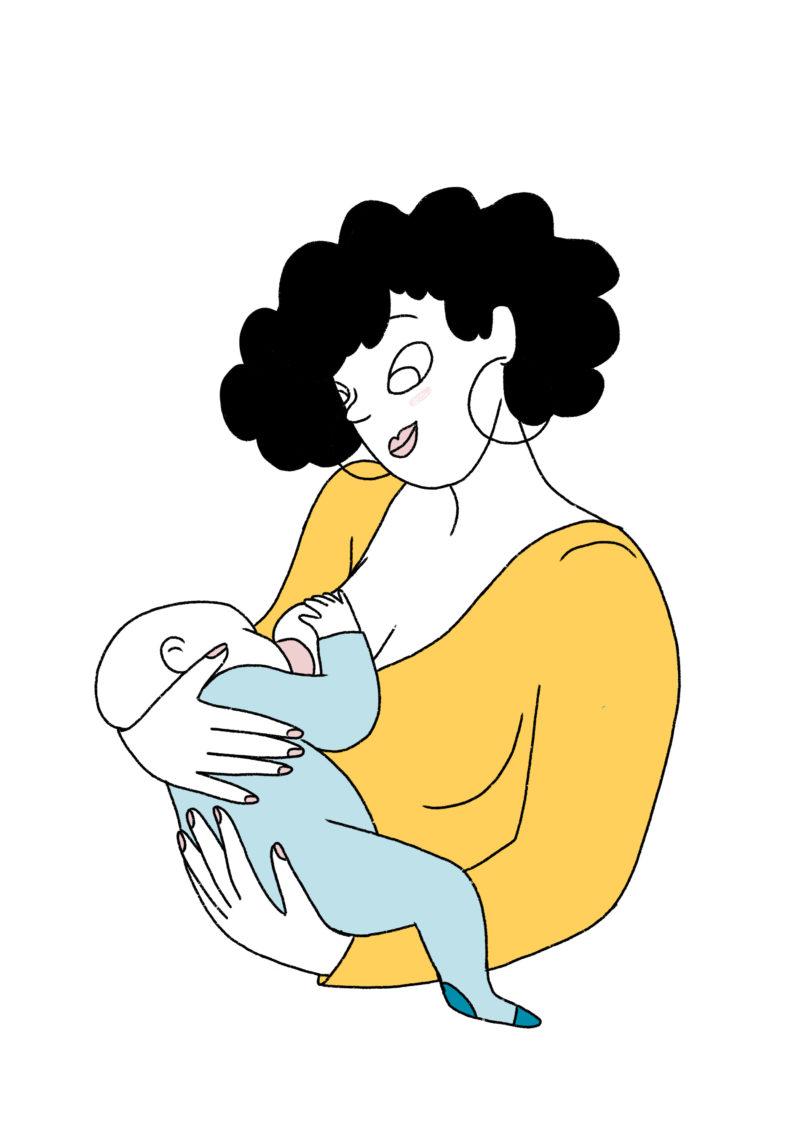 Maman allaite bébé mpedia.fr