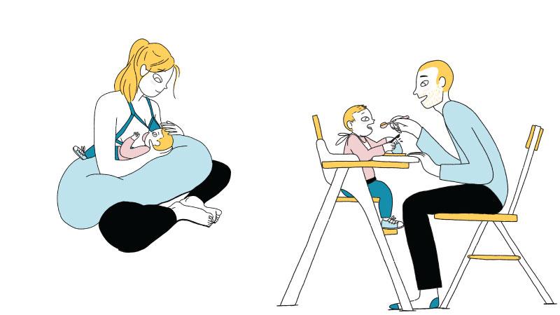 Le lait maternel : pilier de l'alimentation du bébé mpedia.fr