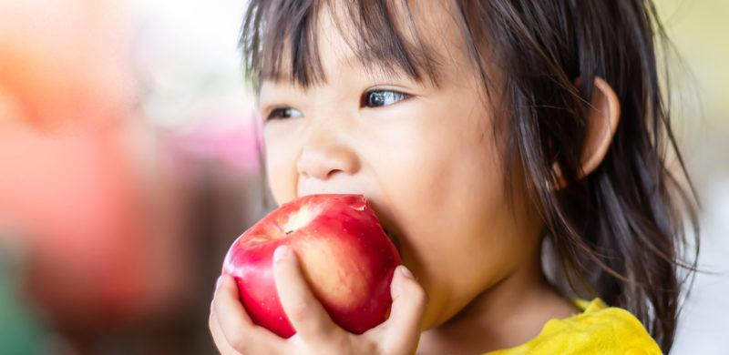 enfant-vegetarien