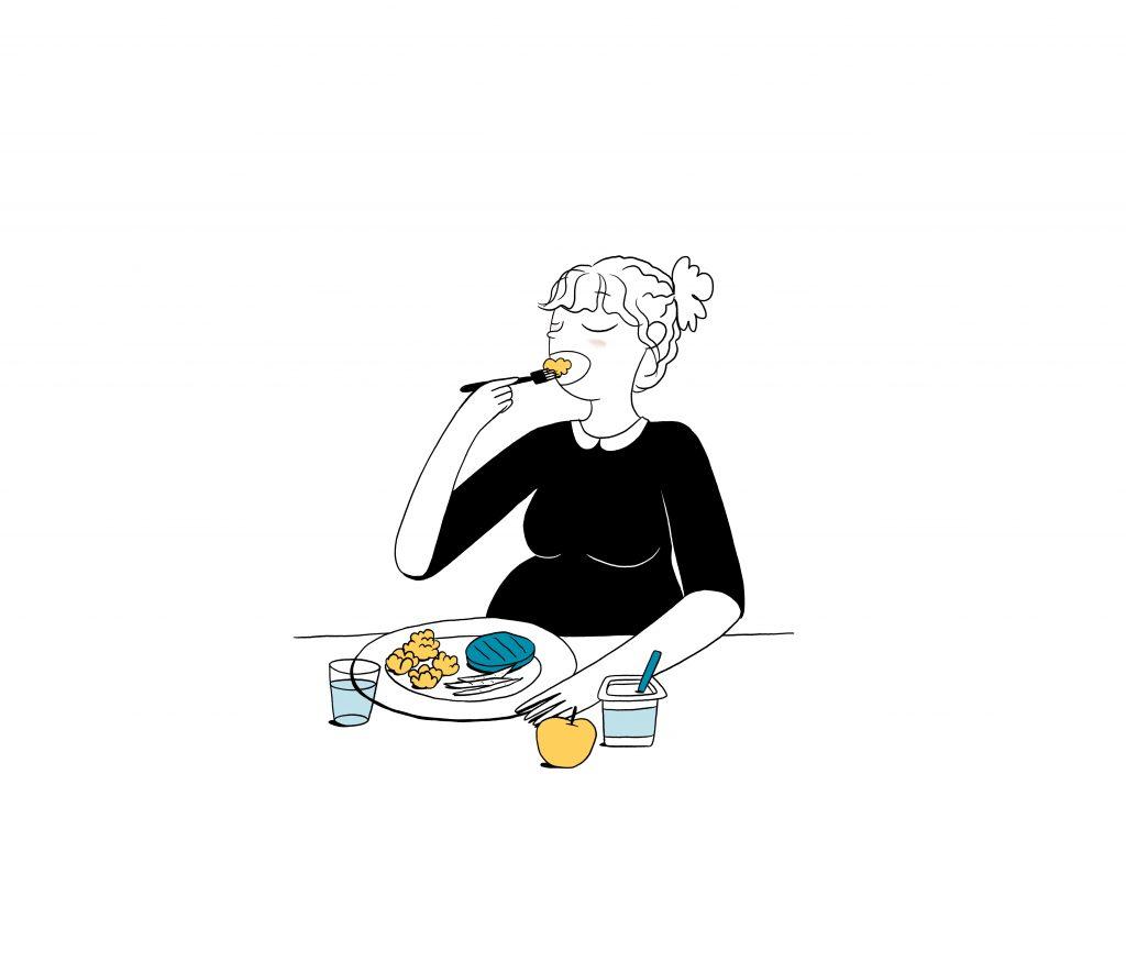 Manger équilibré pendant la grossesse