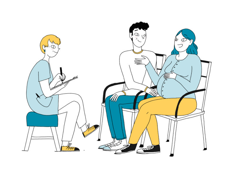 L'entretien prénatal précoce avec la sage-femme mpedia.fr