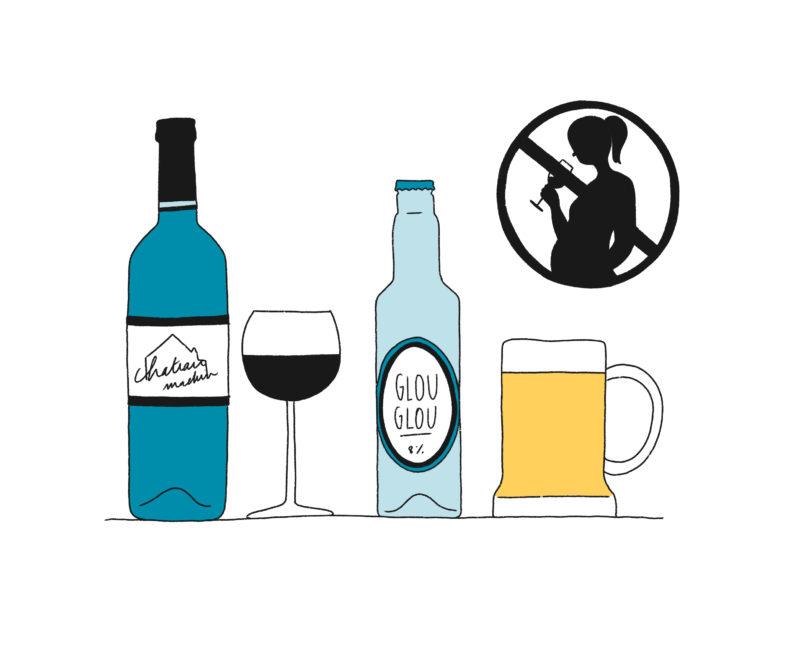 Zéro alcool pendant la grossesse mpedia.fr