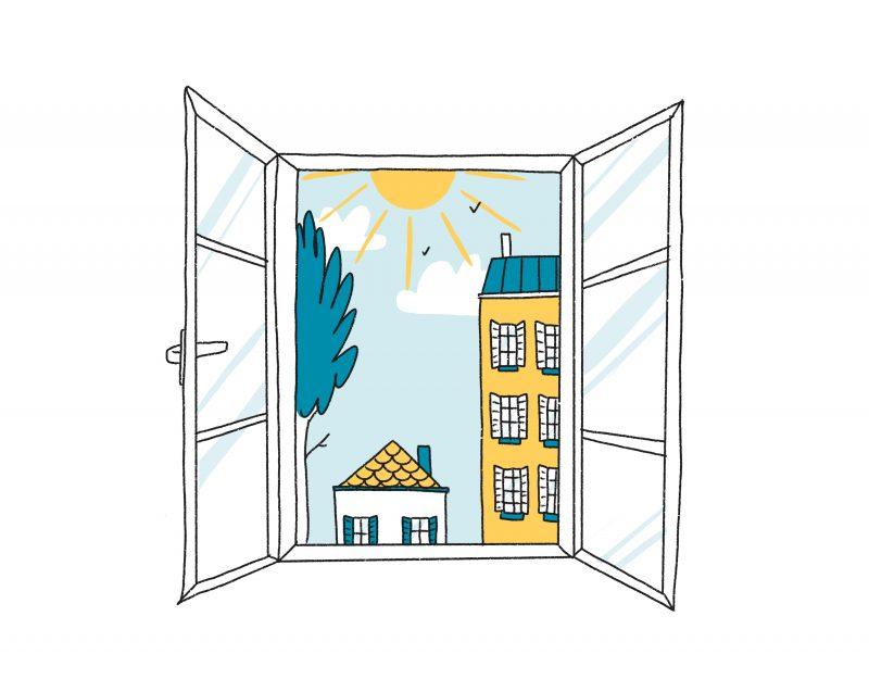 Aerer quotidiennement votre logement - bons gestes sante environnement mpedia