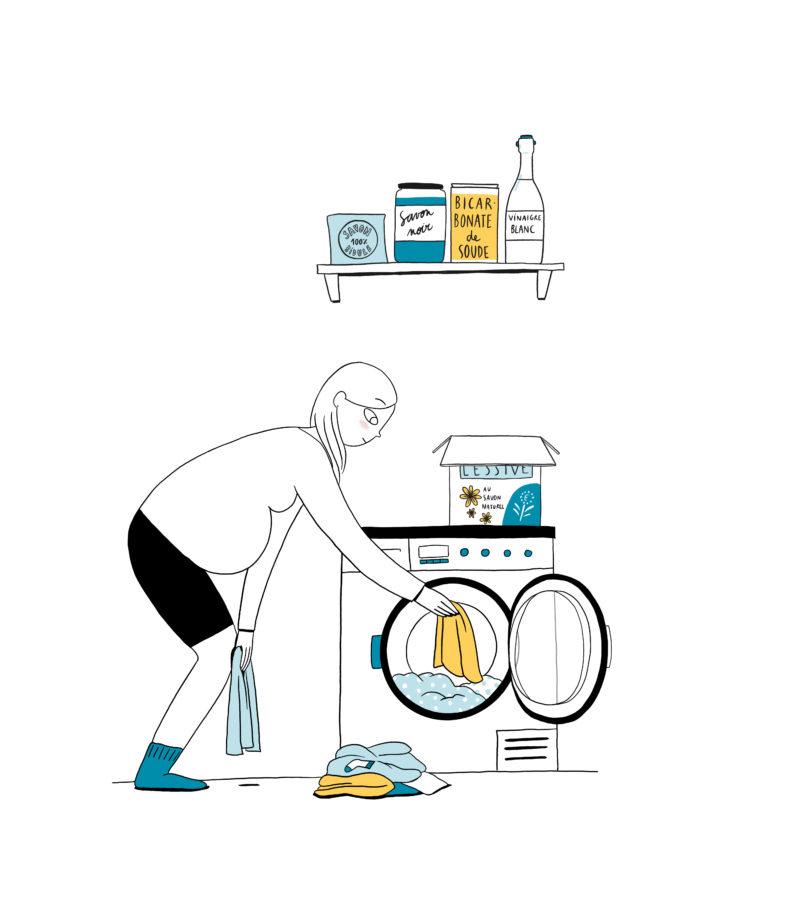 Choisir une lessive respectueuse de la santé et de l'environnement - mpedia
