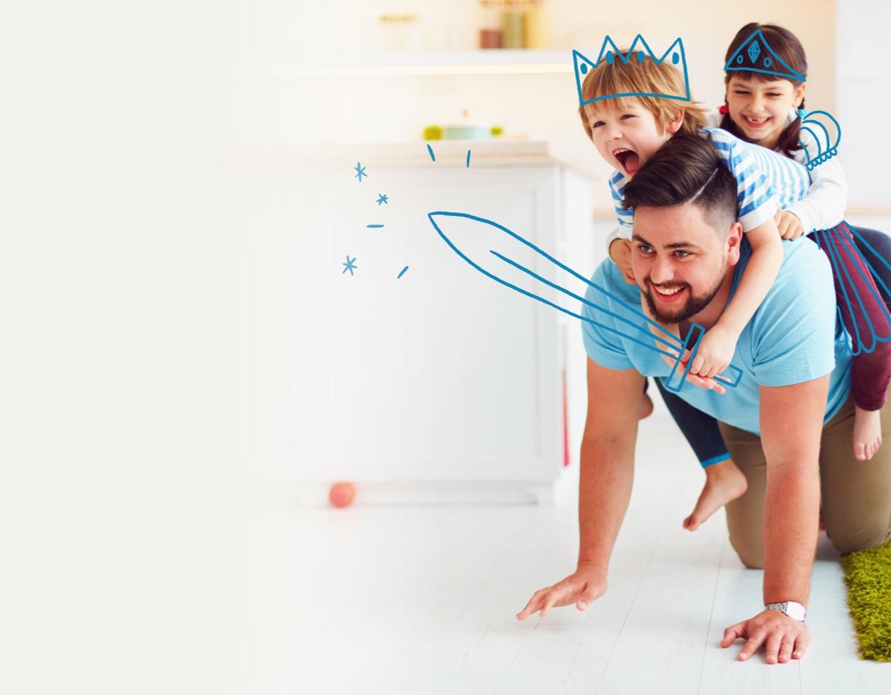 Ecrans et enfants : la meilleure application pour votre enfant : c'est vous !