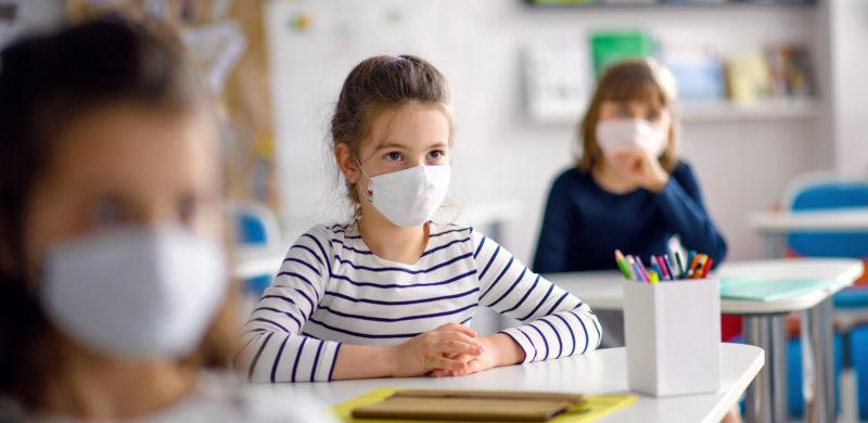 enfants et coronavirus, port du masque à l'école