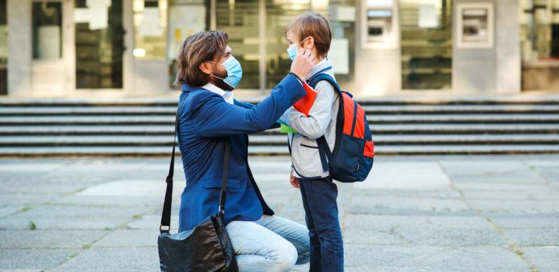 covid masque enfant ecole primaire
