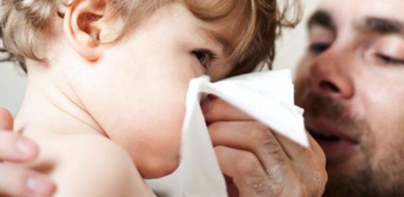 Rhume de l'enfant