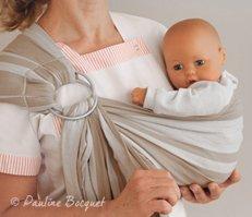 Porte-bébé berceuse