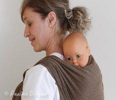 Porte-bébé dos