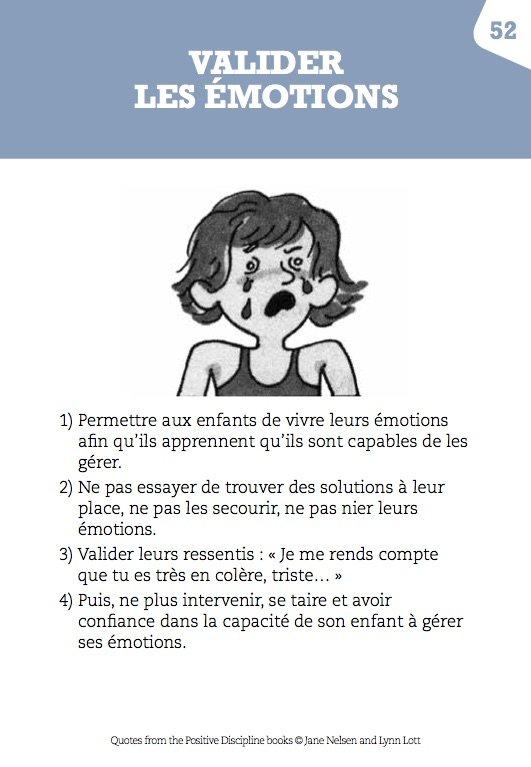 Valider les émotions, éducation positive, éditions Le Toucan, mpedia