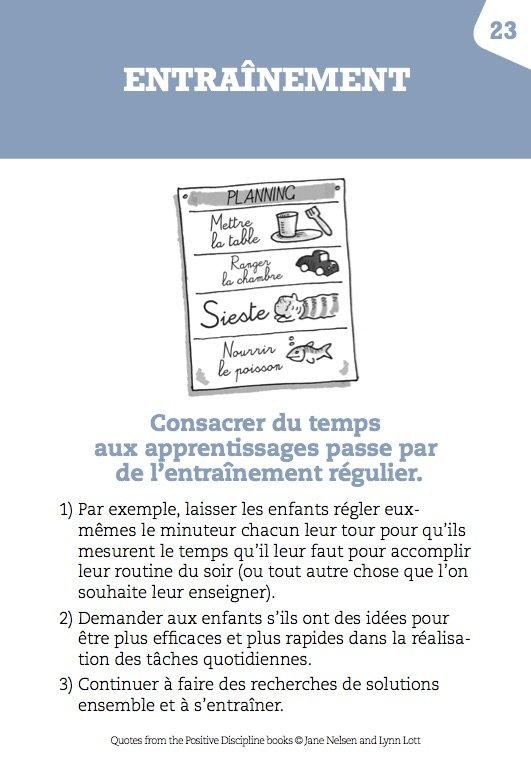 Entraînement, éducation positive, éditions Le Toucan, mpedia