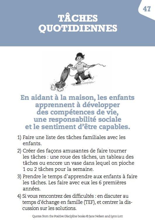 Tâches quotidiennes, éducation positive, éditions Le Toucan, mpedia