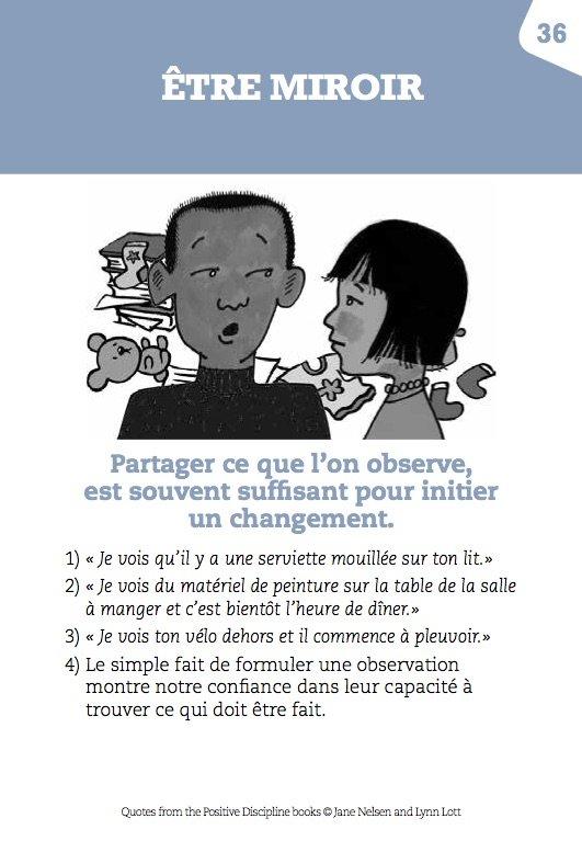 Être miroir, éducation positive, éditions Le Toucan, mpedia